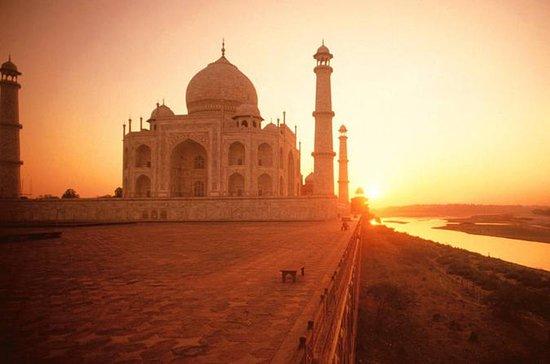 Am selben Tag Taj Mahal Tour mit...
