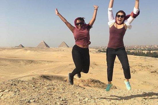Privat tur til Pyramidene i Giza...