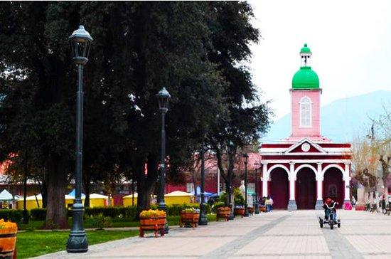Santiago: Cajon del Maipo und Embalse...