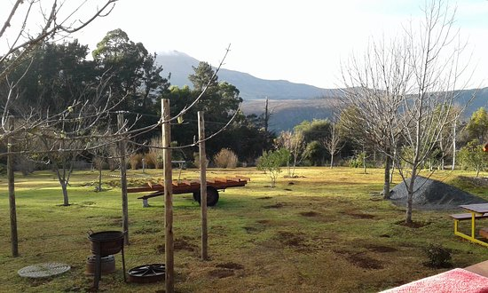 Swallowtail Country Estate Caravan Park & Camping: Their family braai area is under construction still