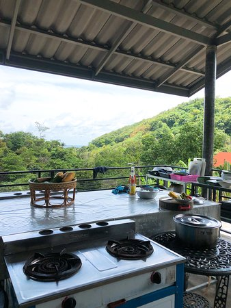 Thai Cooking Lessons By Miss Chel: Fabulous View from the cooking place