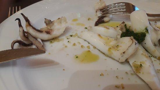 Cucina Tizziano: seppia arrosto