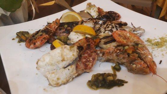 Cucina Tizziano: arrosto di muccine (pescato del giorno)