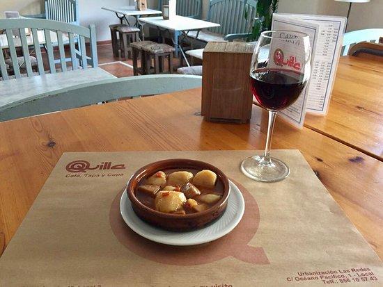 Bar Restaurante Quilla Las Redes: Patatas a la riojana en Bar Quilla Las Redes