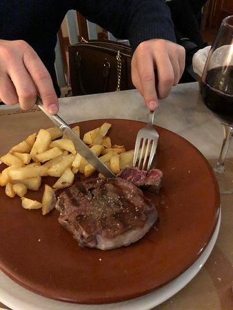 Bar Restaurante Quilla Las Redes: Solomllo de retinta en Bar Quilla Las Redes