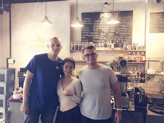 Percent Coffee House: Customers with us as close friends