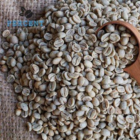 Percent Coffee House: We select individual green bean before roasting