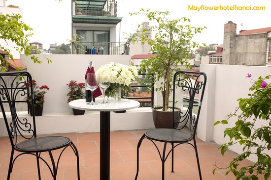 May Flower Hotel: balconly From Vip room