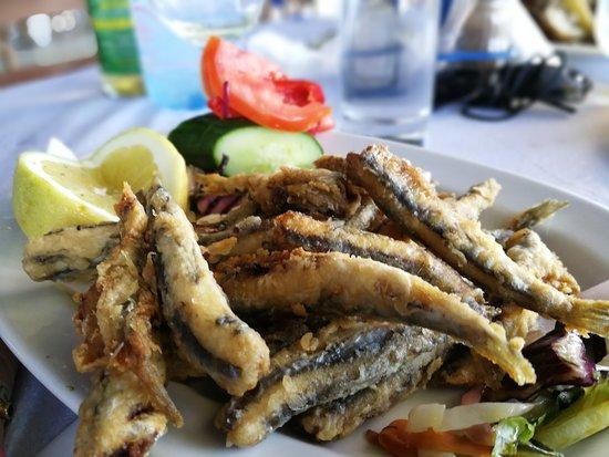 Koukla Beach Restaurant: Sadientjes
