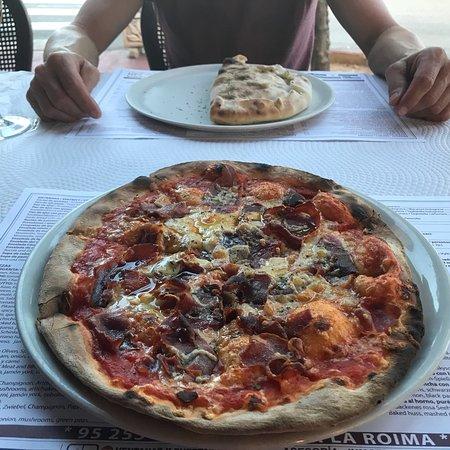 La Roima Pizzeria: Very nice pizzas👍