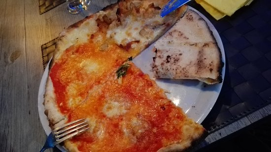 La Rosetta: Pizza 4 gusti a fantasia dello chef!