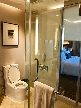 AETAS lumpini: separate Shower and toilet