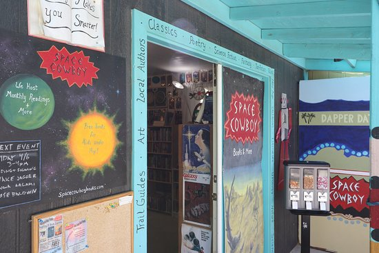 Joshua Tree, CA: Space Cowboy Independent Bookstore
