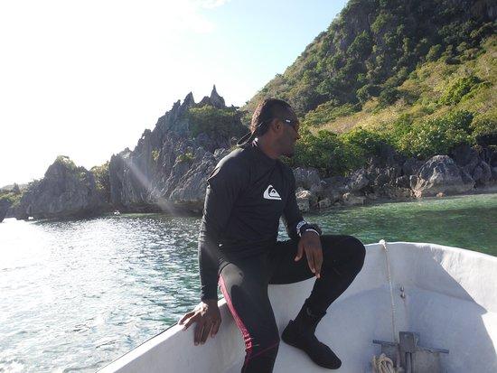Coralview Island Resort: Cap'n Morgan!!