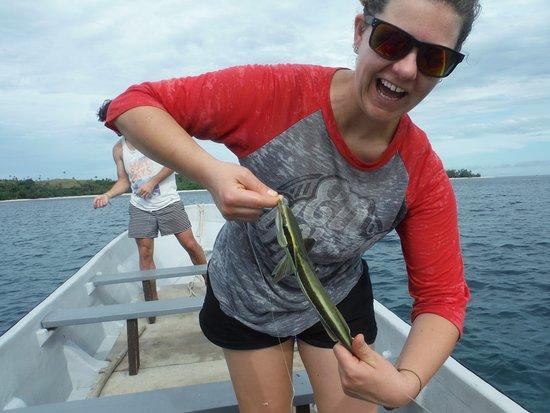 Coralview Island Resort: Hand Line Fishin'