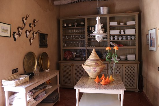 Kasbah Gousteau: Kitchen
