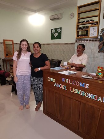 two Angel Lembongan spa; massage,Hair,Facial,Acrillic nail/ gel,Body waxing