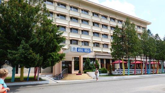 Hotel Rusca: Látkép
