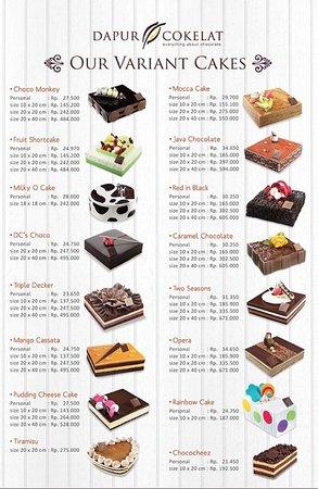 daftar harga cakes dapur cokelat galaxy picture of dapur cokelat