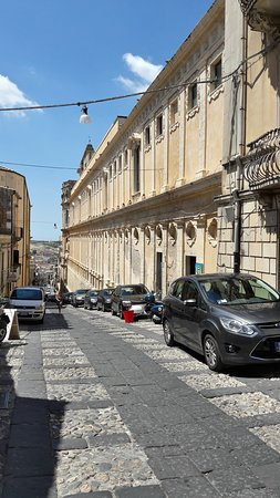 Centro Storico: Street in Noto