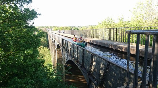 Chirk, UK: The Thomas Telford Aqueduct by Canoe
