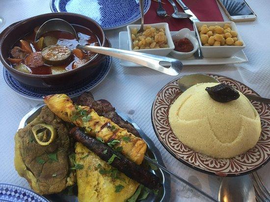 L'Oasis de Marrakech: Salade berbère