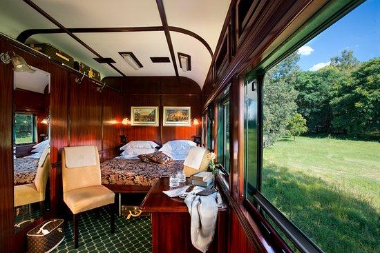 Rovos Rail: Deluxe suite