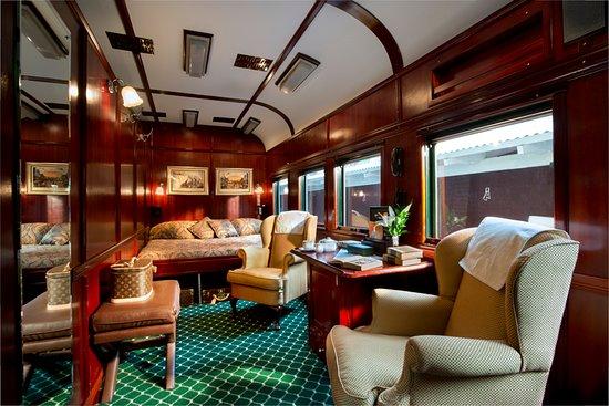 Rovos Rail: Royal suite