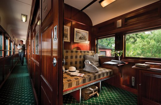 Rovos Rail: Pullman suite (day configuration)