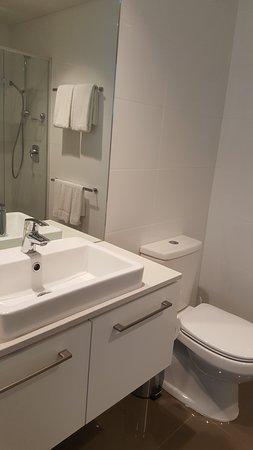 City Tempo - Lonsdale Street: master bathroom