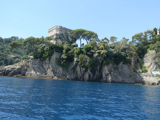 Portofino Taxi Boat: One of many photos showing the beautiful colour of the water It was so tranquil and special