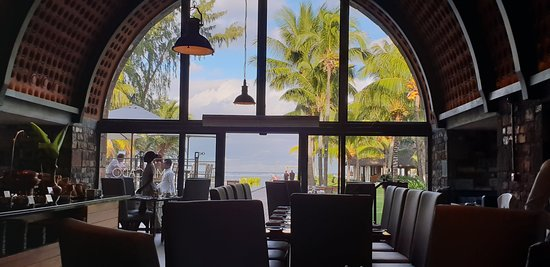 Outrigger Mauritius Beach Resort: View from the restaurant