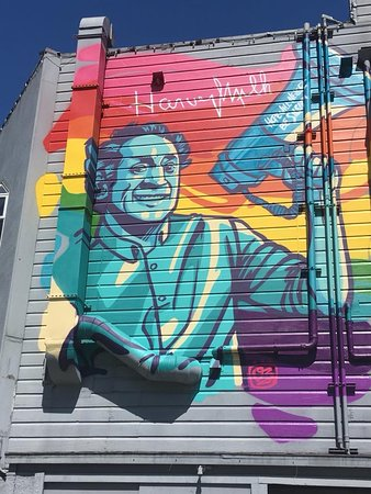 Mission Trail Mural Walks: This one is Castro but still worth a look
