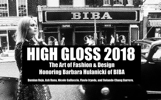 The Box Gallery: High Gloss The Art of Fashion and Design July 14 to August 10 tickets: