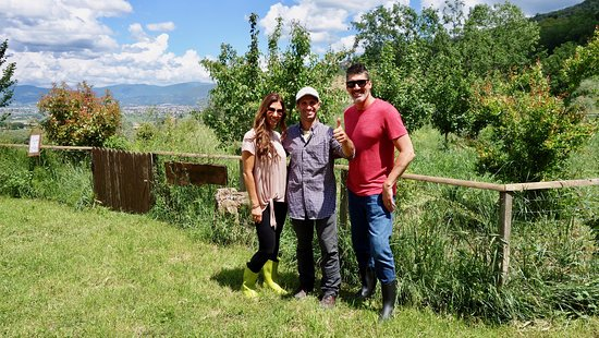 Family Farms of Montefalco: Second Farm we went to ...