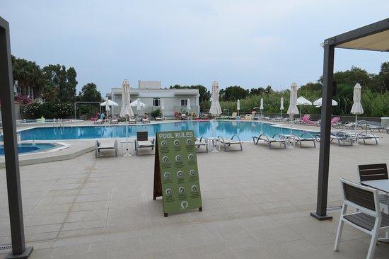 Artemis Hotel Apartments: zwembad