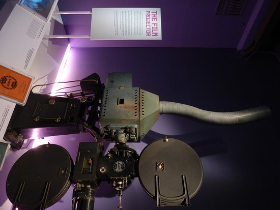 Museum of the Moving Image: Film Projector