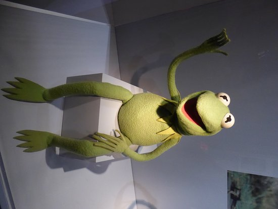 Museum of the Moving Image: Kermit the frog