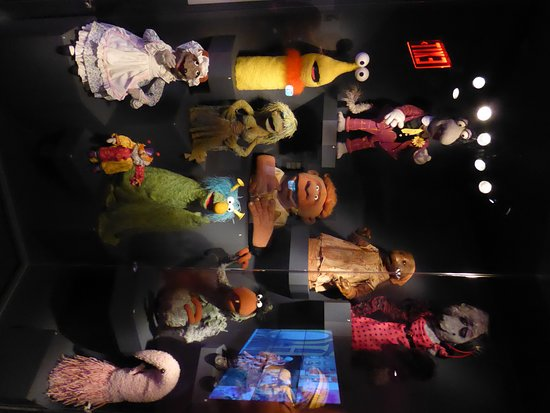 Museum of the Moving Image: more puppets