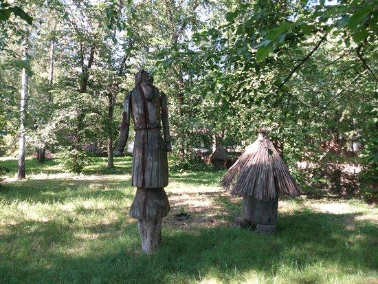 Pereiaslav-Khmelnytskyi, Ukraine: на территории музея