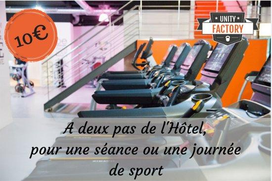 Salle Fitness A Deux Pas De L Hotel Picture Of Hotel Concorde