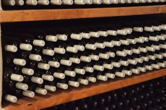 Kostantakis Cave Winery: Wine bottles .