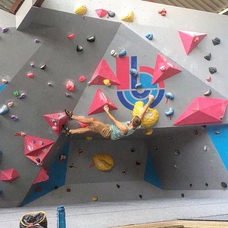 Indoor rock climbing southampton