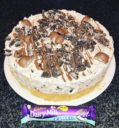 Cafe Mauds Newcastle: Oreo Cheesecake