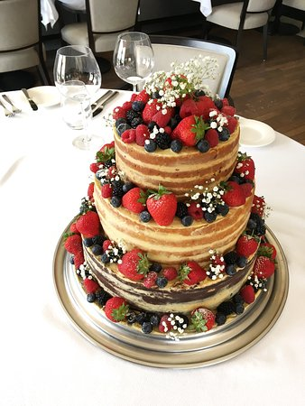 La Pirogue: Birthday cake specially for one of our dear guests.