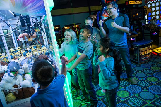 Kids Quest and Cyber Quest at Coushatta Casino: Cyber Quest is a unique arcade that features family-friendly games for people of all ages to enj