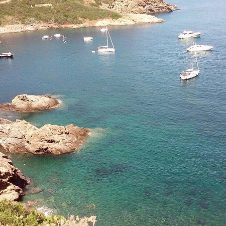 Porto Azzurro, Olaszország: Passeggiata Carmignani