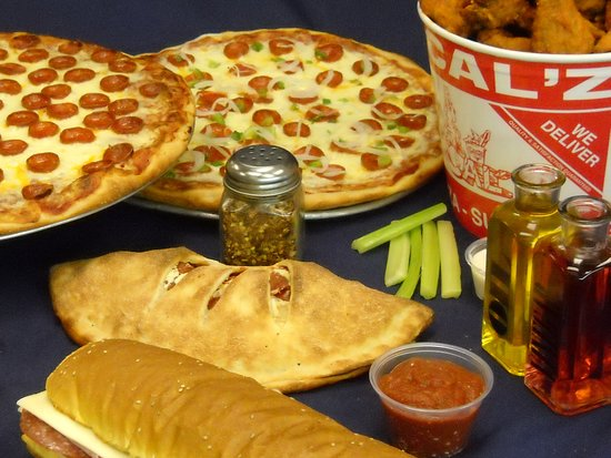 Calz Pizza Subs And Chicken Wings Virginia Beach Restaurant