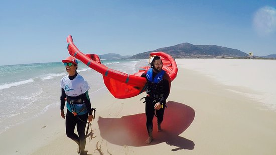 Kitesurfing in Tarifa!Learn kitesurfing in Tarifa with Lost Elementos
