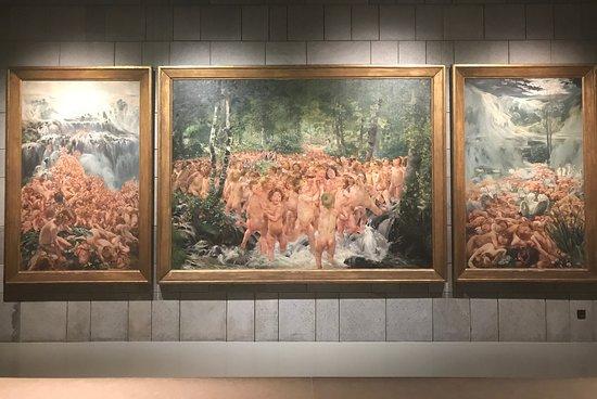 Musee Fin-De-Siecle: Tríptico del Barón León Fredéric - pesadilla de dodotis...